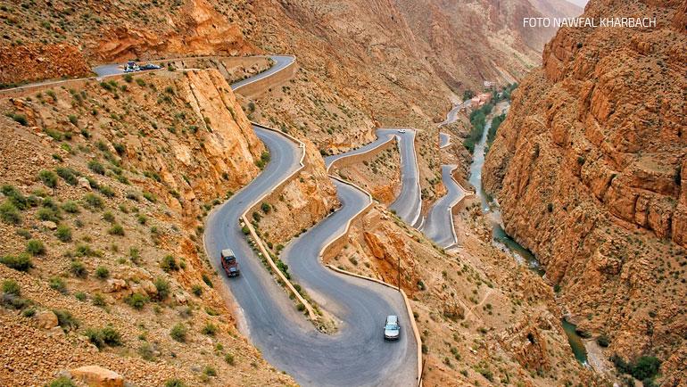 Trekking en Marruecos: La Garganta del Dades